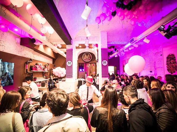Evento Magnum Pink & Black