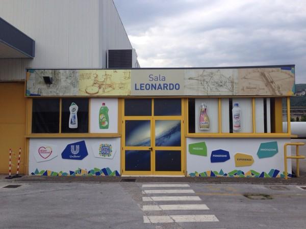 Rebranding fabbrica Unilever Pozzilli – fase 1